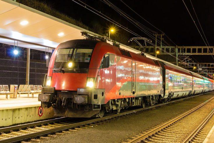 Anreise Bahn 1