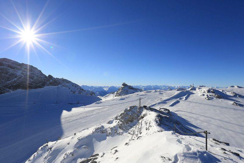Dachstein-Gletscher - Winterurlaub in Ramsau am Dachstein