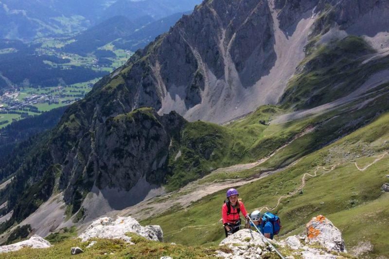 Klettern - Sommerurlaub in Ramsau am Dachstein